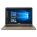 Asus 15.6' Laptop with Intel Celeron Processor, 4GB Memory, 500GB Hard Drive, Black