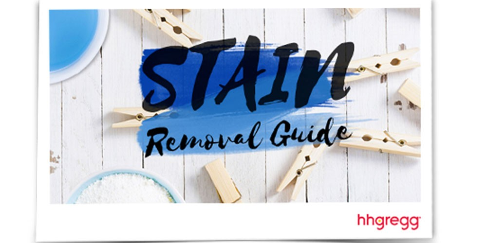 stain removal guide.