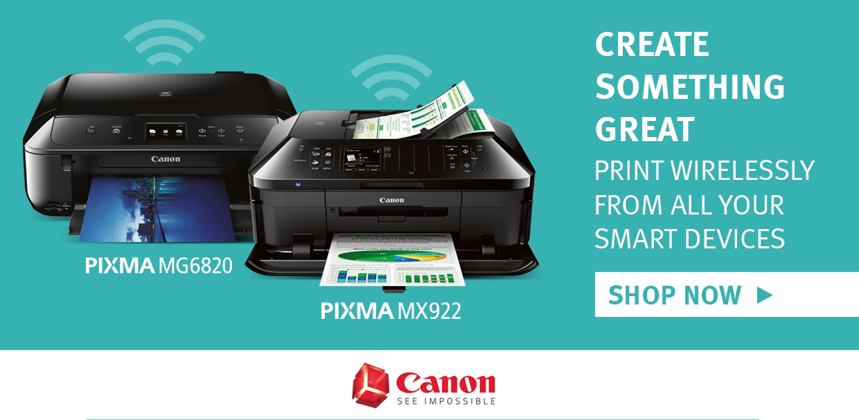 cannon wireless printer