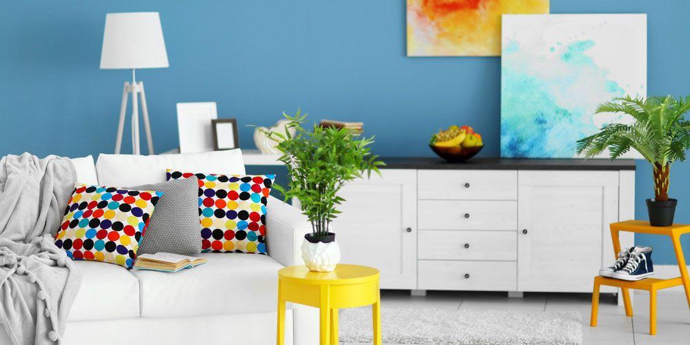 colorful home decor.