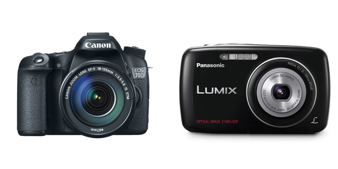 DSLR vs point and shoot cameras.